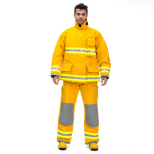 Fire fighting costume suit extinguishing fire protection clothing ready Firefighters protective
