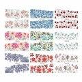 LCJ 1 Vendas Quente Folha de Transferência da Água Etiqueta Do Prego Flor Decalques DIY Arte Decoração de Unhas