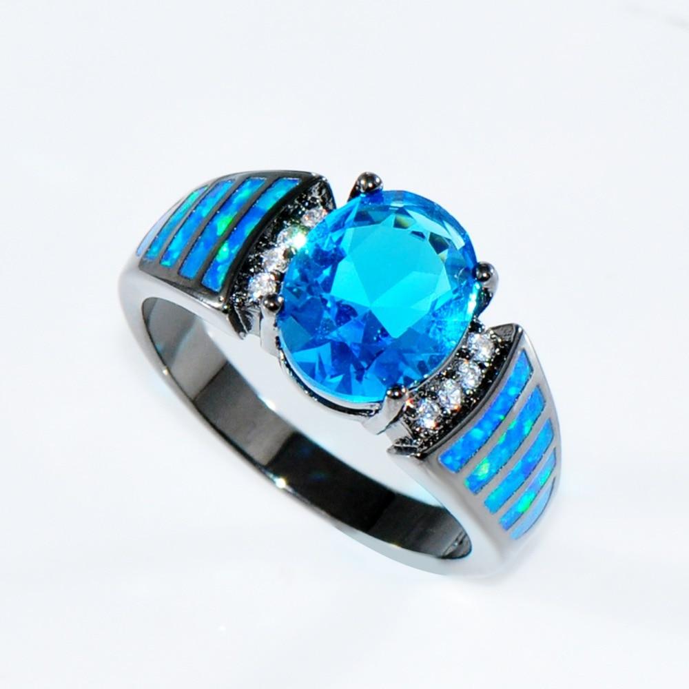 Aliexpresscom Buy Size 6789 Attractive Light Blue Jewelry