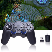 Universal 2 4G Wireless Game Controller Gamepad Joystick For Xbox 360 PS3 Android Mobile Phone TV