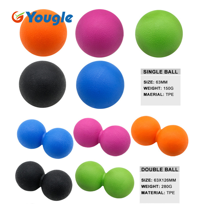Honest Yougle Fitness Massage Ball Therapy Trigger Full Body Exercise Sports Crossfit Yoga Balls Relax Relieve Fatigue Tools Fitness & Body Building
