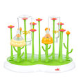 Baby Bottle Drying Rack Useful Baby Bottle Dryer Rack Simple Tree Shape Cleaning Drying Rack Shelf Kitchen Feeding Holder Tools