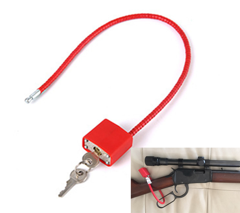 Cable Gun Lock Cable Length Trigger Lock Luggage Lock Security Door Lock lomond бумага cуперглянцевая 1105100