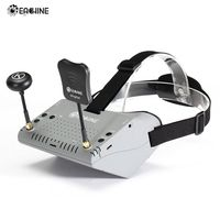 In Stock!Eachine EV900 5.8G 40CH HDMI AR VR FPV Goggles 5 Inch 1920*1080 HD Display Built in Battery