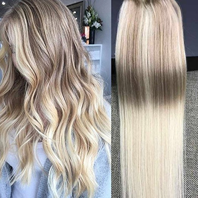 Full shine 100 real straight balayage 50g remy human hair tape in full shine 100 real straight balayage 50g remy human hair tape in extensions 14 to pmusecretfo Image collections