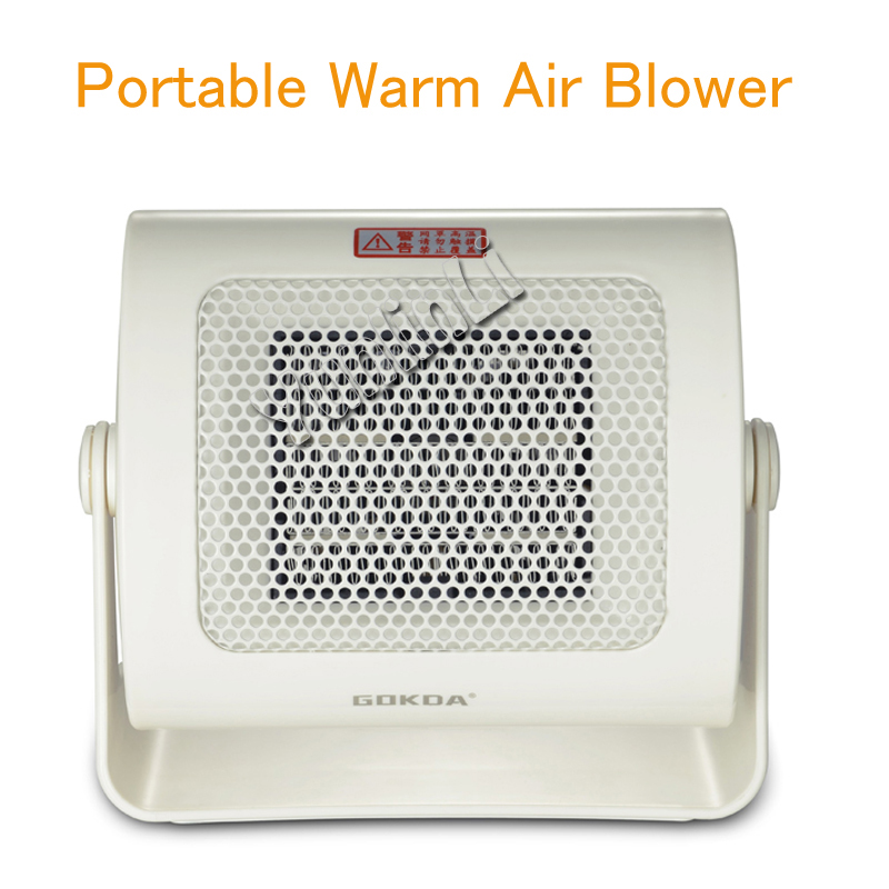Portable Warm Air Blower Mini Electric Air Heater Home Office Warm Heater Fan | Energy-saving Mute Fast Heat 500W RNF-500Q mini electric heaters red handy air heater warm air blower office home desktop warm fan heater for warm winter heating device