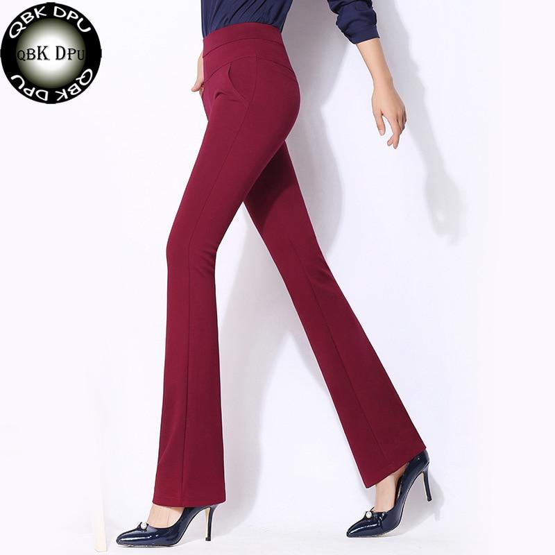Casual Grande De Arrivée Nouvelle Taille Femmes Pantalon 2018 Bureau z7PnZx