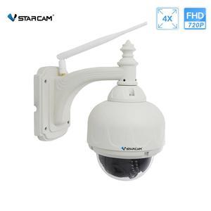 Image 1 - VStarcam bezprzewodowe PTZ kamera IP kopułkowa na świeżym powietrzu 720P HD 4X Zoom bezpieczeństwa CCTV wideo sieci obserwacja IP kamera Wifi