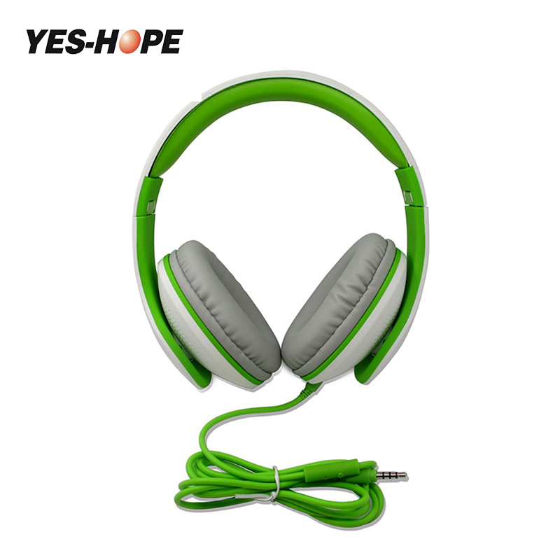 YES-HOPE Wired Headphones Headset With Microphone Detachable Cable On Ear Casque Filaire AUXMusic For Ipod auriculares con cable kz headset storage box suitable for original headphones as gift to the customer