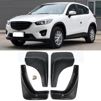 Z tyłu samochodu z przodu błotniki nadkola błotniki błotniki dla Mazda CX-5 CX5 2012 2013 2014 2015 2016 błotniki