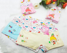 5PCS/Lot Children Cotton Soft Underwear girls Panties Puberty Girl Cute Cartoon Teenage Briefs Comfortable