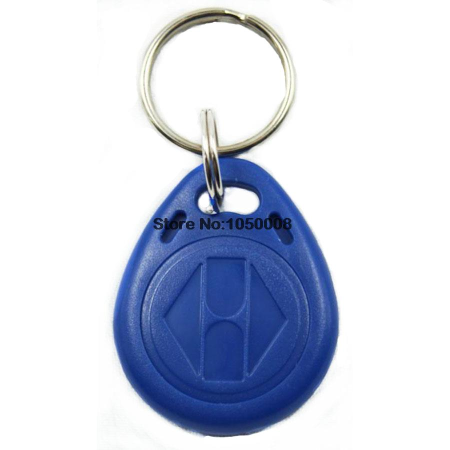 100pcs/lot 125KHz proximity ABS key tags RFID key fobs for access control rewritable hotel T5577 chip rfid 125khz wristband with em chip waterproof abs bracelet for access control swimming pool fitness suana water park 100pcs lot