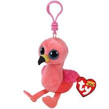 Ty Beanie Boos Flamingos Plush Doll Animal Toys With Tag 4 10cm