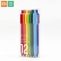 Xiaomi Mijia KACO Zeichen Bunte studenten Stift 12 Farben 0,5mm Refill ABS Kunststoff Schreiben Länge 400m von Xiaomi ökologische Kette