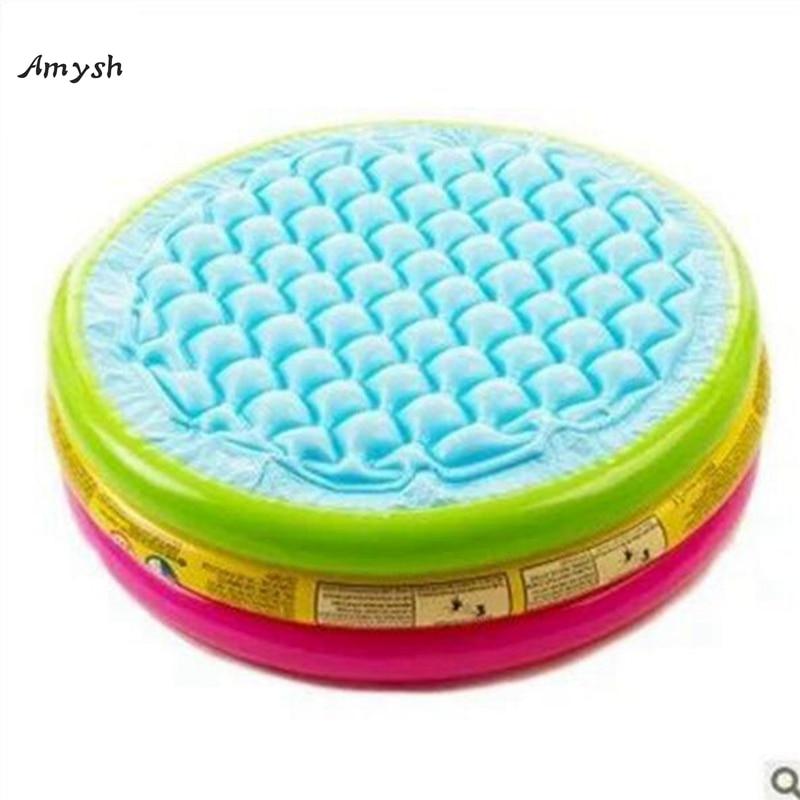 Amysh флуоресцентный трехъядерный надувной Бассейны Piscina Портативный открытая детская бассейна Ванна надувные игрушки