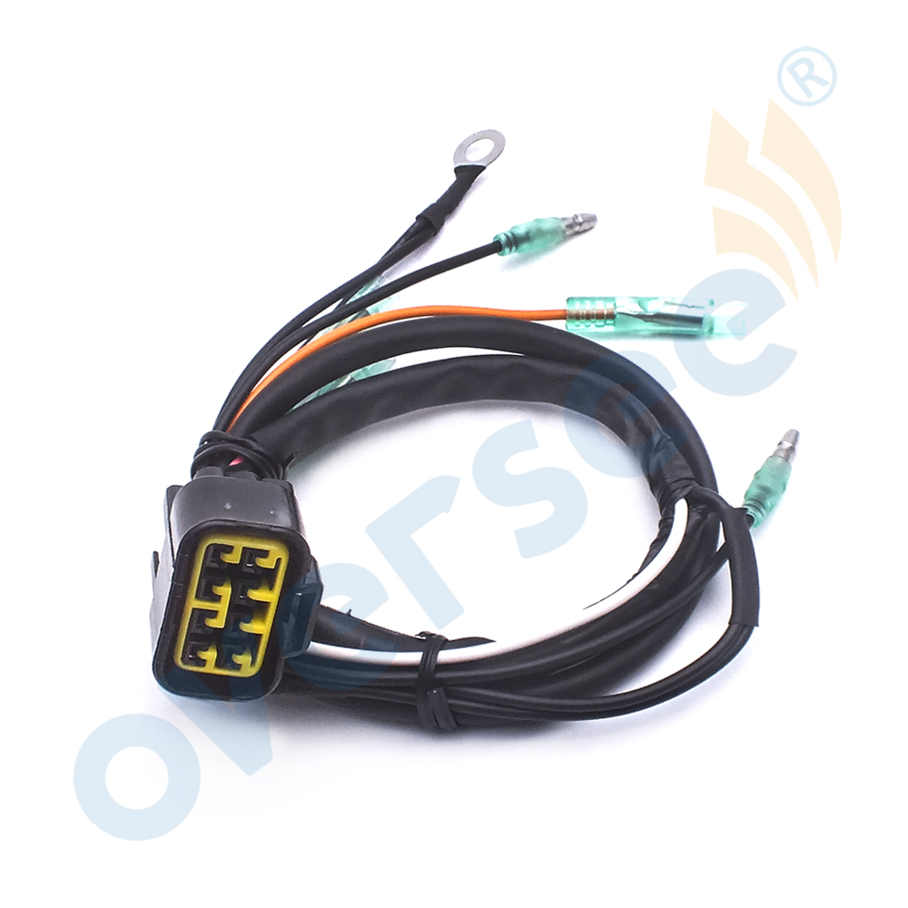 6f5 82590 20 outboard wire harness assy for yamaha outboard engine 40hp [ 1000 x 1000 Pixel ]