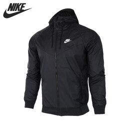 Original Neue Ankunft NIKE Sportswear Windrunner Männer der Jacke Kapuze Sport