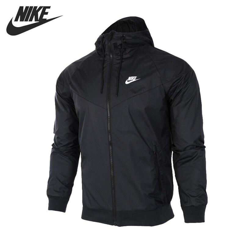 original new arrival 2017 nike sportswear windrunner men 39 s jacket hooded sportswear in running. Black Bedroom Furniture Sets. Home Design Ideas