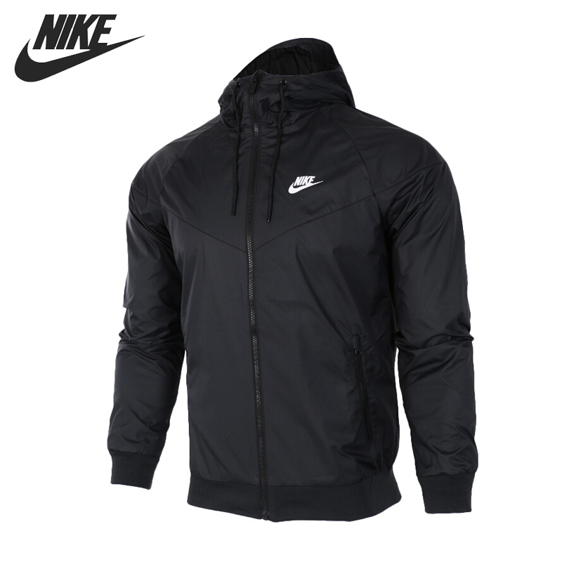 Original New Arrival 2018 NIKE Sportswear Windrunner Men's Jacket Hooded Sportswear цена