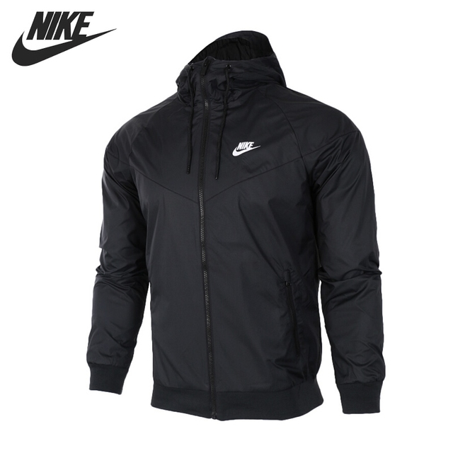 Original New Arrival 2018 NIKE Sportswear Windrunner Men s Jacket Hooded  Sportswear 9c99d2c37