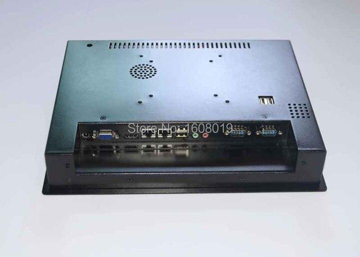 Écran tactile d'ordinateur personnalisé tout en un PC POS Terminal ordinateur pc panneau 2mm avec 2 1000 M Nics 2COM 2G RAM 320G HDD - 3