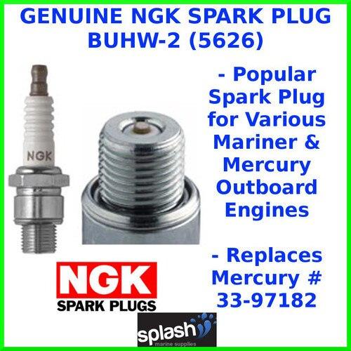 Japan NGK 33 97182 spark plug SPARK PLUG BUHW2 outboard