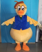 Custom Old Duck Mascot Costumes Christmas Birthday Party Womens Mens Mascots Suit Fancy Dress Carnival Outfit Adult Size