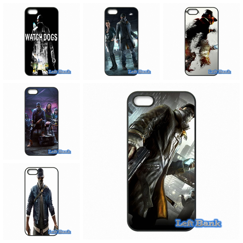 Enjoy Watch Dogs Game Cheap Phone Cases Cover For Samsung Galaxy Note 2 3 4 5 7 S S2 S3 S4 S5 MINI S6 S7 edge