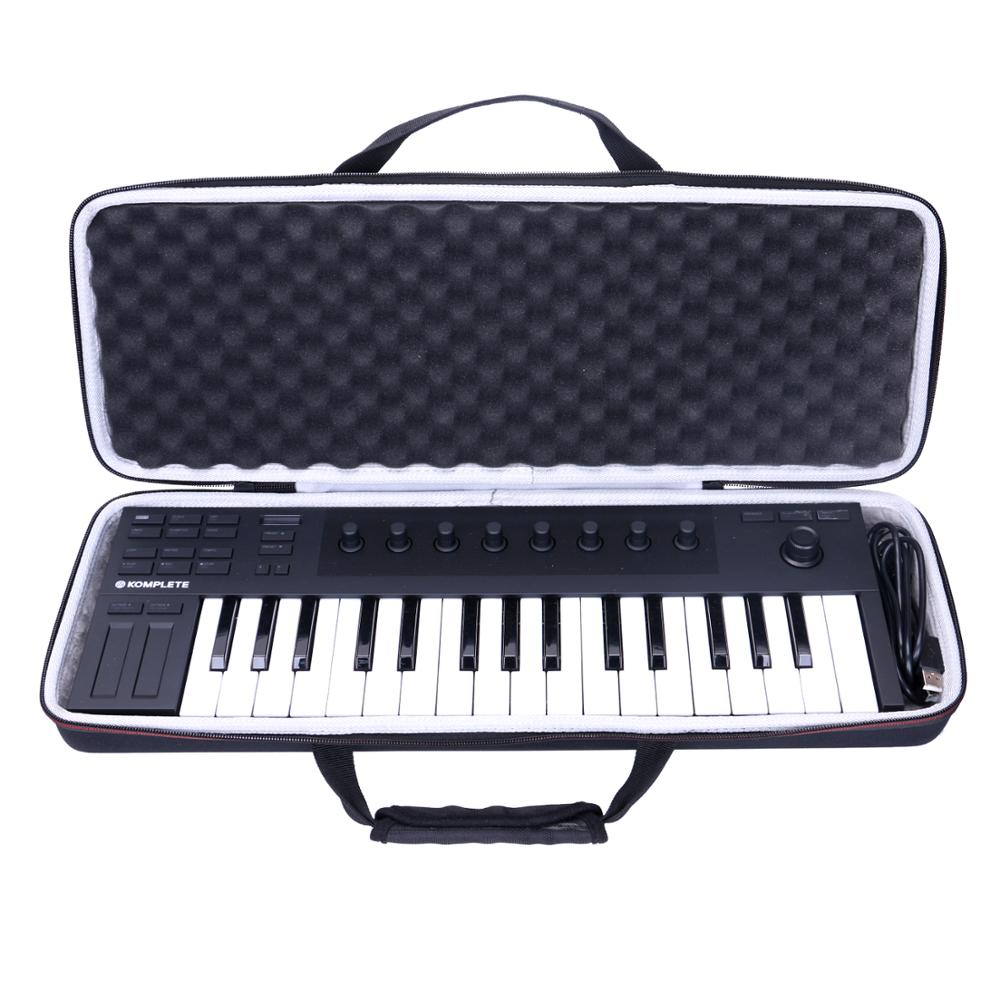 LTGEM EVA Waterproof Carrying Hard Case For Native Instrument Komplete Kontrol M32 Controller Keyboard