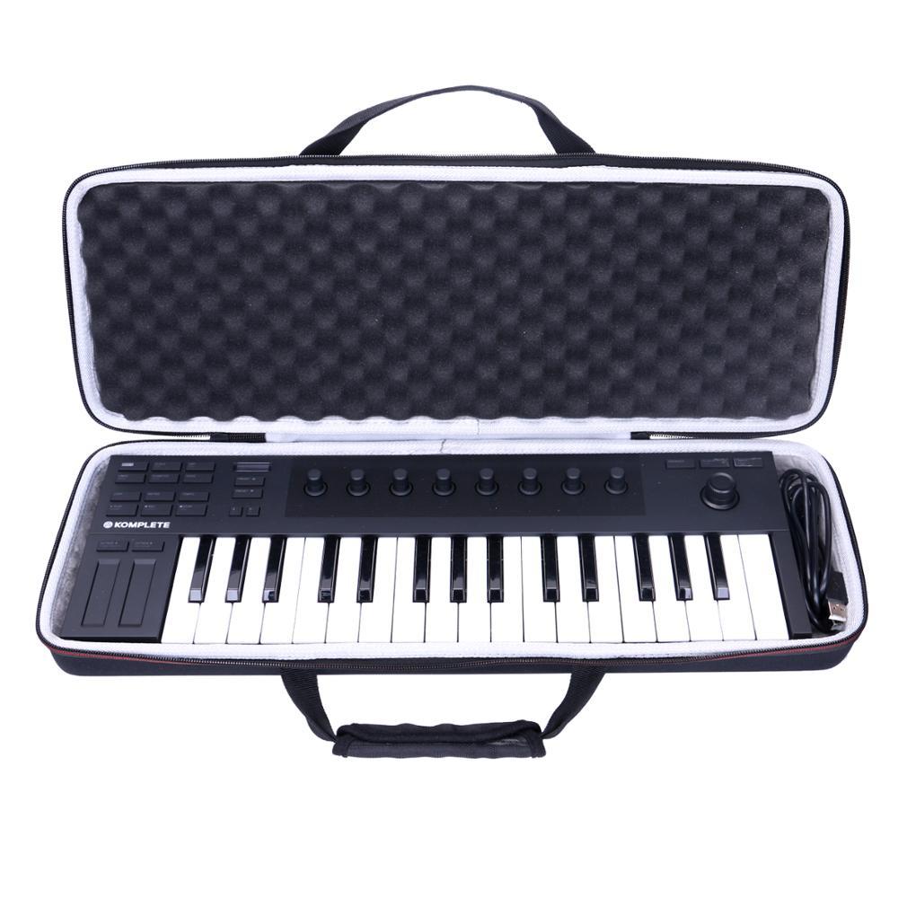LTGEM EVA Waterproof Carrying Hard Case For Native Instrument Komplete Kontrol M32 Controller Keyboard