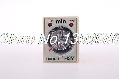 10pcs  time timer relay 8pin H3Y-2 H3Y AC110V 5A  2.0min-60min 60min реле relay 3 3 2 5a