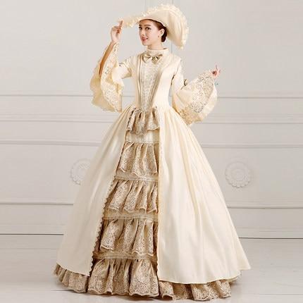 Yf Hoge Kwaliteit Cusotm Made Prinses Kostuum Gothic Victoriaanse Jurk 18th Century Victoriaanse Jurken Periode Baljurk Kostuum Haren Voorkomen Tegen Grijzing En Nuttig Om Teint Te Behouden