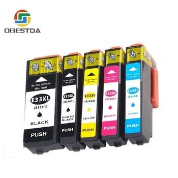 Obestda Compatibel EPSON 33XL 33 Inkt cartridge Voor T3351 T3361 Expression Premium XP 530 540 630 640 635 645 830 900 Printer