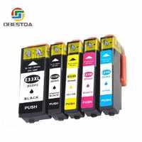 Obestda kompatybilny EPSON 33XL 33 pojemnik z tuszem do T3351 T3361 Expression Premium XP 530 540 630 640 635 645 830 900 drukarki