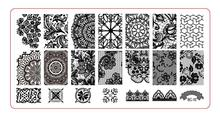 BC-010  Image Plate -1PCS/Lot New Plastic Manicure Template Nail Art Stamping Polish Print Stamper (free ship)