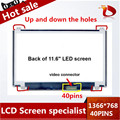 "100% Original N116BGE-L41 B116XW03 V.2 N116BGE-L42 11.6 ""hd 1366*768 para acer aspire one 722 725 laptop pantalla led pantallas lcd"