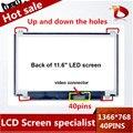 "100% Original N116BGE-L41-L42 n116bge B116XW03 V.2 11.6 ""hd 1366*768 para acer aspire one 722 725 laptop display led telas de lcd"