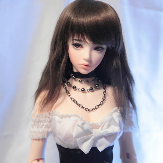 BJD doll SD doll 1/3 girl big girl Mari joint doll with high heel steel d big girl
