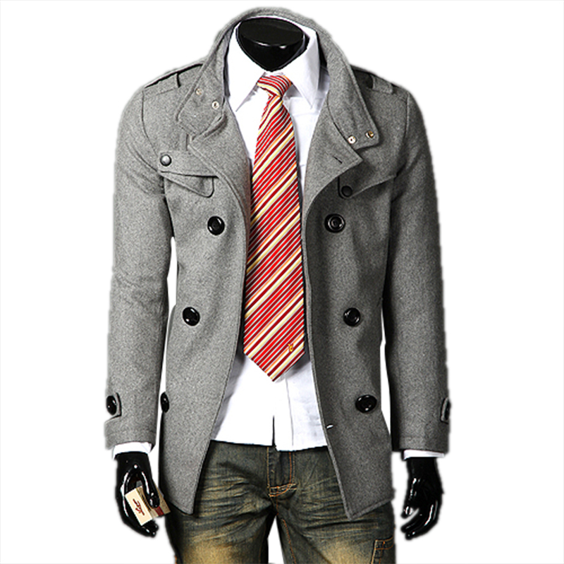 Aliexpress.com : Buy New Arrival Winter Duffle Trench Coat Men's
