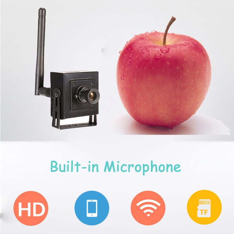 1MP 720P wireless audio micro spy IP Security font b Camera b font HD Mini small
