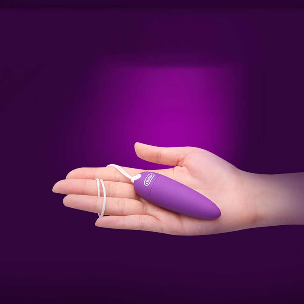 Durex G Spot Dildo Vibrator untuk Wanita Vagina Masturbasi Vibrador Silikon Seks Mini Klitoris Stimulator Massager Mainan untuk Orang Dewasa