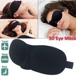 Máscara para dormir en 3D, máscara para los ojos, protector para los ojos, parche para los ojos, suave, portátil, para los hombres, para los ojos