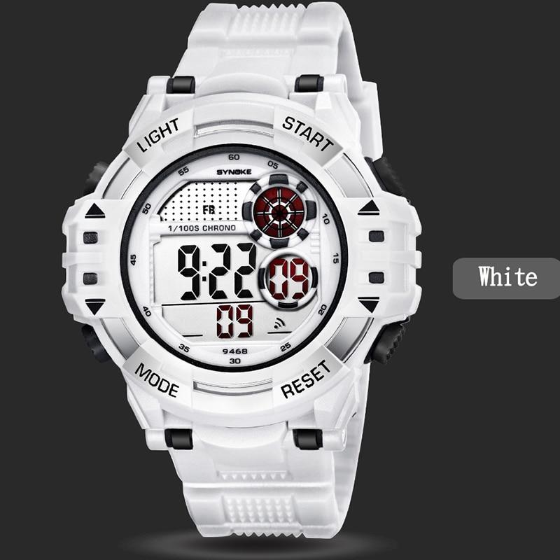 6568e1c7be5 Synoke Relógios Homens Esportes Ao Ar Livre Escalada Correndo Relógios De  Pulso Grande Mostrador Digital de