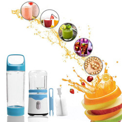 high speed Blender mini portable Juicer fruit vegetable Mixer soybean ice Crusher meat Grinder food Processor  colour:blue/green