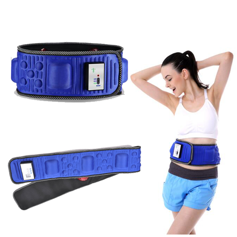 Electric Fitness Vibrating Slimming Belt Massager Thin Waist Belly Liposuction Fat Rejection Machine fat burning weight losing e цена и фото