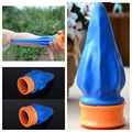 1PC Unisex Mini Blue Pocket Catapult Slingshot Outdoor Shot Target Shooting Toy