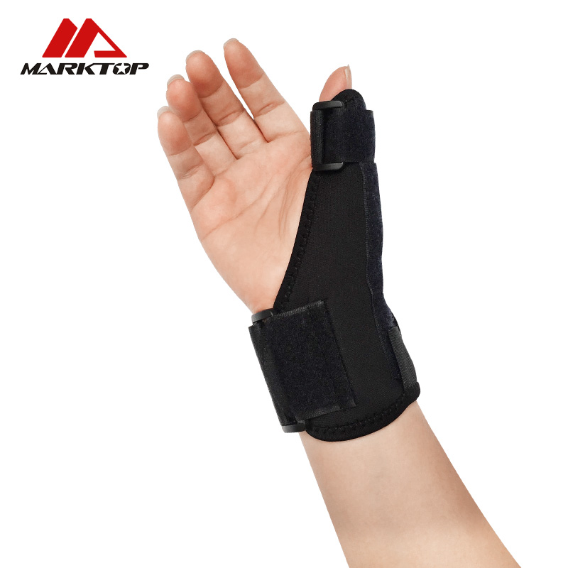 Marktop New Adjustable Wrist Support Brace Support Pads EVA Skiing Hand Protection Splint Fractures Sport Sprain Wristbands