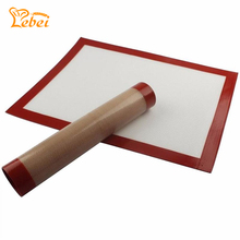 40*30*0.07 cm Nonstick Silicone Baking Mat Rolling Dough Mat Oven Liner Cookie Baking Sheet Silpat Baking Liner Mat Tools P20