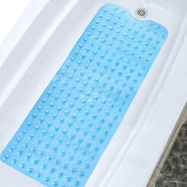 PVC di Grandi Dimensioni Vasca Da Bagno Antiscivolo Tappetini Da Bagno con Ventose 100x40 cm Bagno Carpet Tapete WC di Casa accessori della decorazione Moderna
