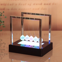 Creative Pendulum Table Decoration Ornaments Luminous Ball Home Decoration Study Office Decoration Crafts High End Business Gift